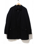 BURBERRY LONDON(バーバリーロンドン)の古着「ノヴァチェックライナー付ステンカラーコート」 ブラック