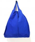 STANDARD SUPPLY(スタンダードサプライ)の古着「2WAYナップサック/リュック」 ブルー