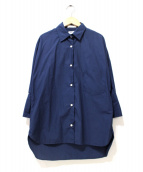 MADISON BLUE(マディソンブルー)の古着「カフスドレスシャツ」|ネイビー