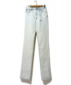 MARC JACOBS(マークジェイコブス)の古着「ブリーチデニムパンツ」|ブルー