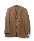 Cantarelli(カンタレリ)の古着「テーラードジャケット」|ブラウン