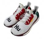 adidas×pharrell williams(アディダス×ファレル・ウィリアムス)の古着「SOLAR HU GLIDE M」|ホワイトマルチ