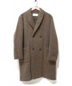 CURLY(カーリー)の古着「ショールカラーコート」|キャメル