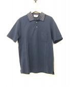 HERMES(エルメス)の古着「ポケットHロゴポロシャツ」|ネイビー