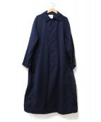 BEAMS BOY(ビームスボーイ)の古着「パッチ付カルゼトップコート」|ブラック