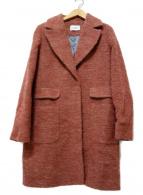 CIVAS(チバス)の古着「ミックスメランシチェスターコート」|ピンク