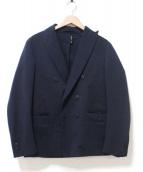 TEATORA(テアトラ)の古着「ダブルデバイスジャケット」|ダークネイビー
