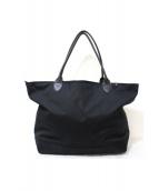 hugel(ヒューゲル)の古着「ラージナイロントートバッグ」|ブラック