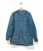 SIERRA DESIGNS(シェラデザインズ)の古着「クラシックマウンテンパーカー」|ターコイズブルー