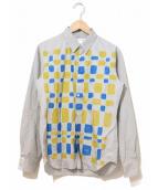COMME des GARCONS SHIRT BOY(コムデギャルソン シャツボーイ)の古着「プリントシャツ」|グレー