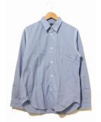 COMME des GARCONS HOMME(コムデギャルソンオム)の古着「カラースティッチシャツ」|ブルー