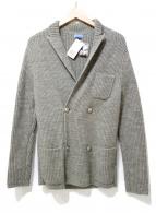 Fil Brezza1955(フィルブレッザ1955)の古着「ダブルニットジャケット」|グレー