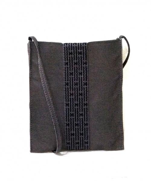 HERMES(エルメス)HERMES (エルメス) エールラインショルダーポシェット/サコッシュ グレーの古着・服飾アイテム