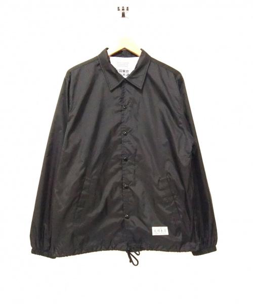 WACKO MARIA(ワコマリア)WACKO MARIA (ワコマリア) コーチジャケット ブラック サイズ:S 写真家・森山大道コラボの古着・服飾アイテム