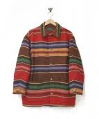 POLO COUNTRY(ポロカントリー)の古着「コンチョボタンラグジャケット」|マルチカラー