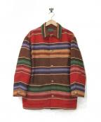 POLO COUNTRY(ポロカントリー)の古着「コンチョボタンラグジャケット」 マルチカラー