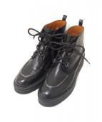SARTORE(サルトル)の古着「ショートブーツ」 ブラック