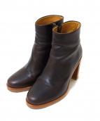 A.P.C.(アーベーセ)の古着「boots chic marron」|ブラウン