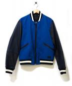 COACH(コーチ)の古着「スタジャン」|ブルー
