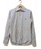 Vivienne Westwood man(ヴィヴィアンウエストウッドマン)の古着「チェックシャツ」|ベージュ