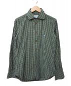 Vivienne Westwood man(ヴィヴィアンウエストウッドマン)の古着「チェックシャツ」|グリーン