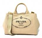 PRADA(プラダ)の古着「カナパ 」|アイボリー(CORDA)