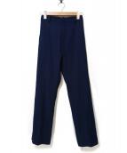 Col Pierrot(コルピエロ)の古着「Side Zip Pants」 ネイビー