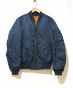 Ron Herman(ロンハーマン)の古着「別注MA-1ジャケット」|ブルー