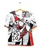 LEONARD FASHION(レオナールファッション)の古着「ボウタイブラウス」|ホワイト