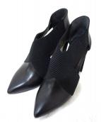 UNITED NUDE(ユナイテッドヌード)の古着「デザインヒールパンプス」|ブラック