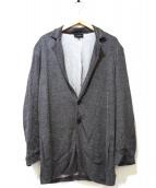 EMPORIO ARMANI(エンポリオアルマーニ)の古着「とろみテーラードジャケット」|グレー