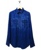 DIESEL(ディーゼル)の古着「ウエスタンシャツ」|インディゴ