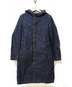MACKINTOSH(マッキントッシュ)の古着「デニムフーデッドコート」|インディゴ