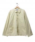 FEI-LON(フェイロン)の古着「フレンチチャイナシャツジャケット」|アイボリー