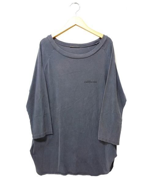Deuxieme Classe(ドゥーズィエムクラス)Deuxieme Classe (ドゥーズィエムクラス) ラグランバックプリントTシャツ グレー サイズ:表記なしの古着・服飾アイテム