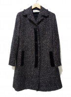 HIROKO KOSHINO(ヒロコ コシノ)の古着「ツイードコート」|グレー