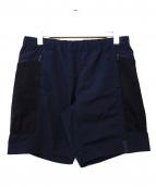 MOUNTAIN RESEARCH(マウンテンリサーチ)の古着「Mesh Pocket Shorts」|ブラック