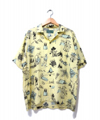 BROWN by 2-tacs(ブラウン バイ ツータックス)の古着「アロハシャツ」|イエロー