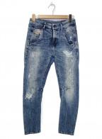 DIESEL()の古着「ジョグパンツ」|インディゴ