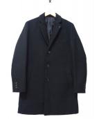INHERIT(インヘリット)の古着「チェスターコート」 ブラック