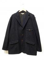 JAPAN BLUE(ジャパンブルー)の古着「インディゴテーラードジャケット」 インディゴ