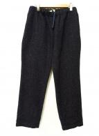 JAPAN BLUE JEANS(ジャパンブルージーンズ)の古着「デニムツイードスウェットパンツ」 インディゴ