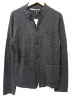 45rpm(フォーティファイブアールピーエム)の古着「ニットジャケット」|グレー