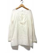 45rpm(フォーティファイブアールピーエム)の古着「切替カットソー」|ホワイト