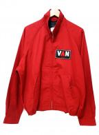 VAN(ヴァン)の古着「刺繍スイングトップ」|レッド