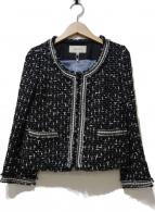 BALLSEY(ボールジィ)の古着「ツイードジャケット」|ブラック
