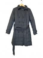 Viaggio Blu(ヴィアッジョブル)の古着「トレンチダウンコート」|グレー