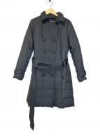 Viaggio Blu(ビアッジョブルー)の古着「トレンチダウンコート」 グレー