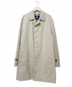 BURBERRY LONDON(バーバリーロンドン)の古着「ステンカラーコート」|ベージュ