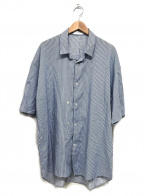 THEE(シー)の古着「double-buttoned S/S shirts」|ホワイト